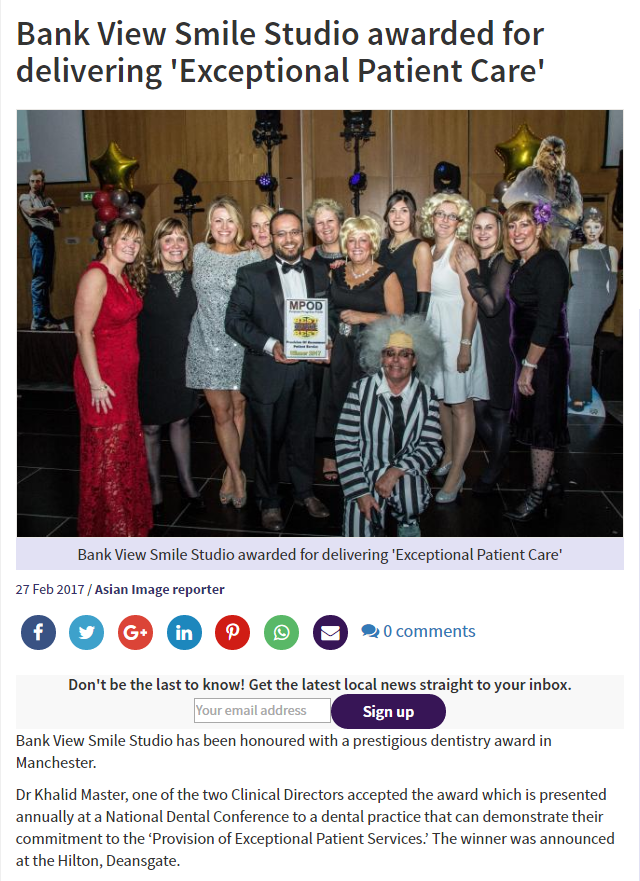 In The Media/Awards